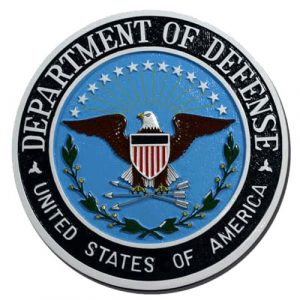Department of Defense Plaque