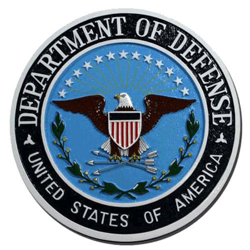 Department of Defense Plaque