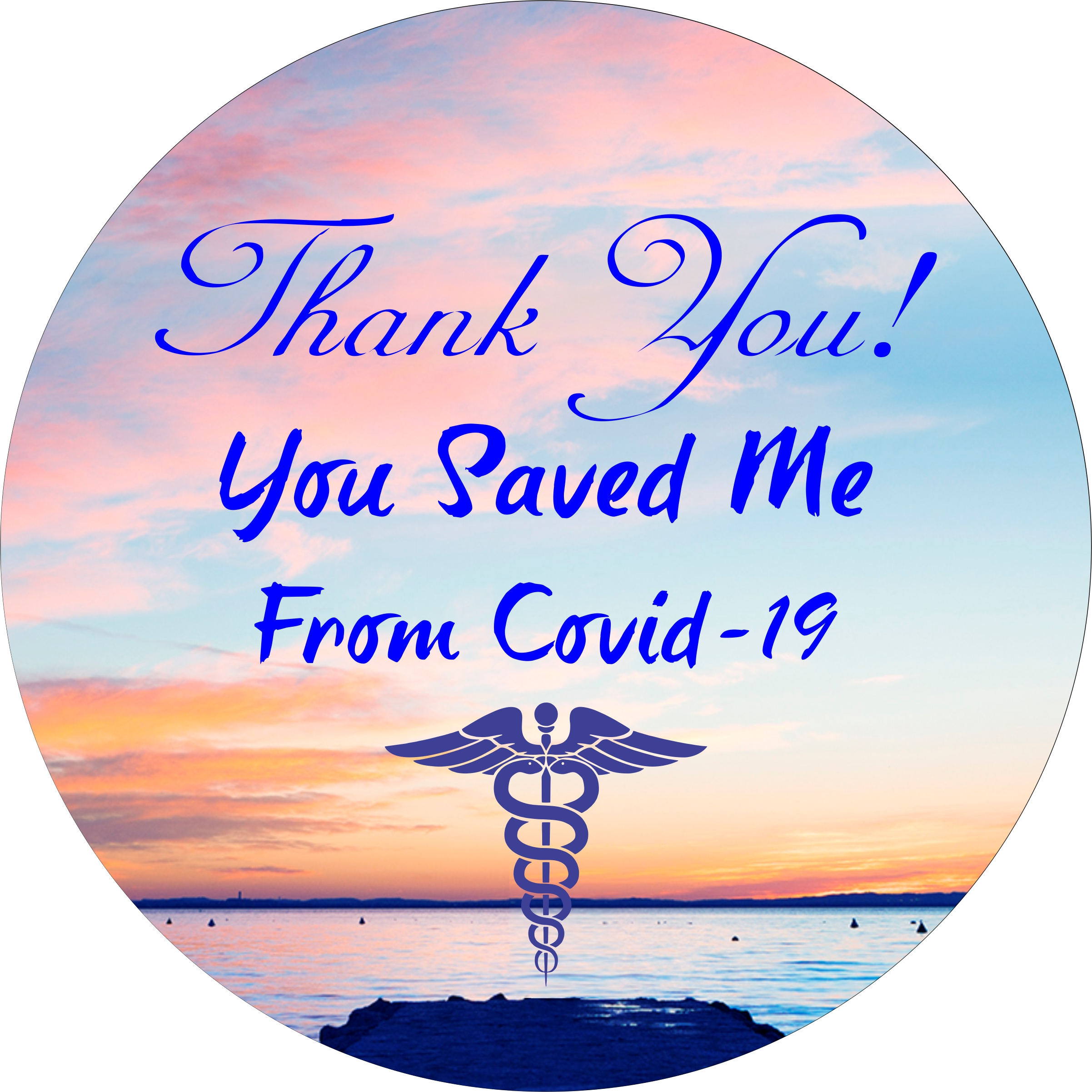 You Saved Me From COVID-19 Mouse Pad