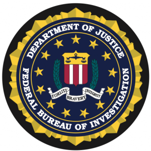 Federal Bureau of Investigation Seal Mouse Pad