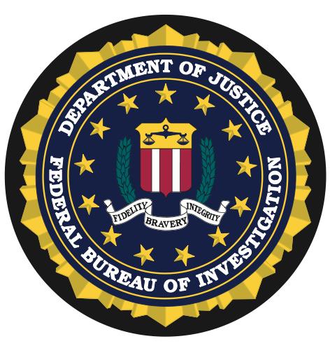 Federal Bureau of Investigation Seal Mouse Pad