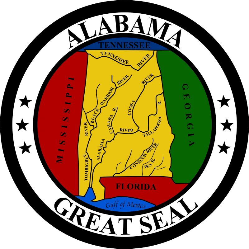 Great Seal of State of Alabama Mouse Pad
