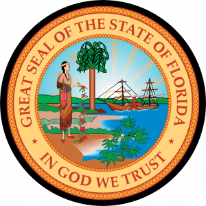 Great Seal of State of Florida Mouse Pad