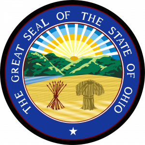 Great Seal of State of Ohio Mouse Pad
