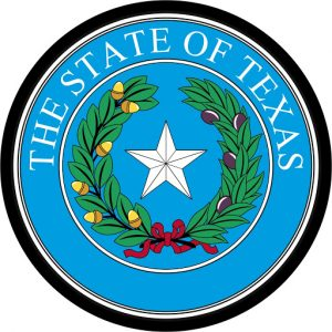 Great Seal of State of Texas Mouse Pad