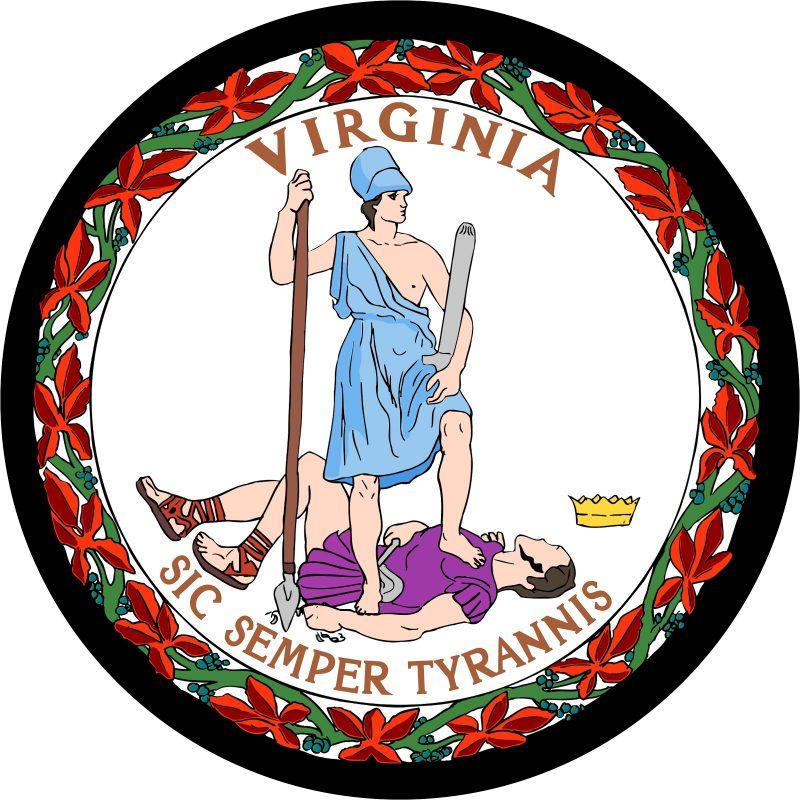 Great Seal of State of Virginia Mouse Pad