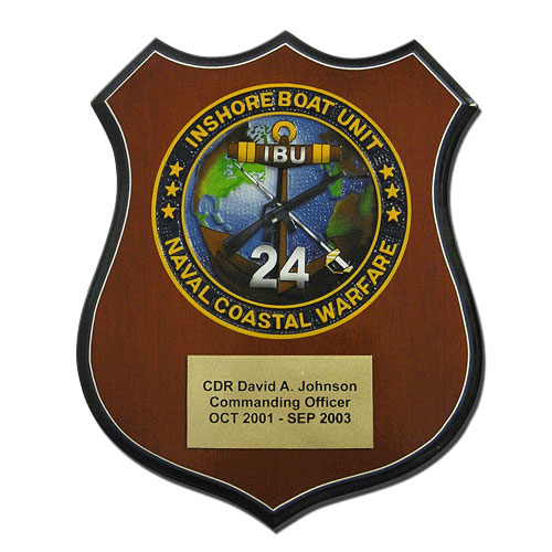 Naval Coastal Warfare Plaque