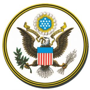 US Great Seal Plaque