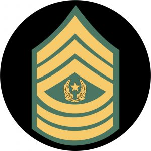 U.S. Army Command Sergeant Major Mouse Pad