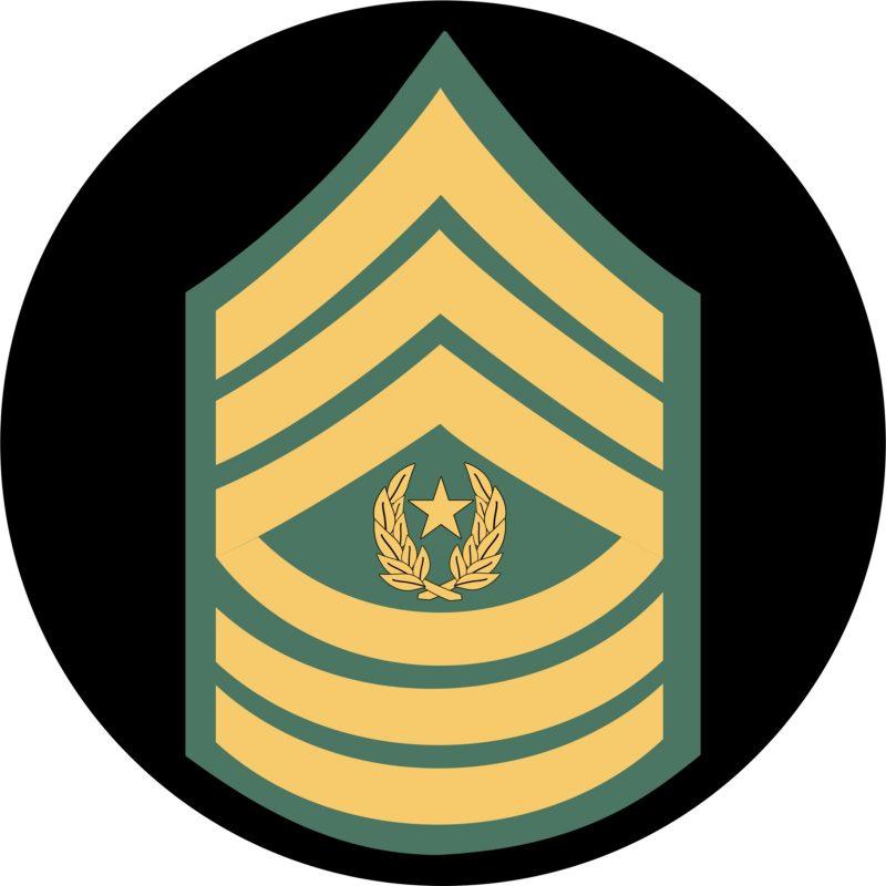 U.S. Army Command Sergeant Major Mouse Pad