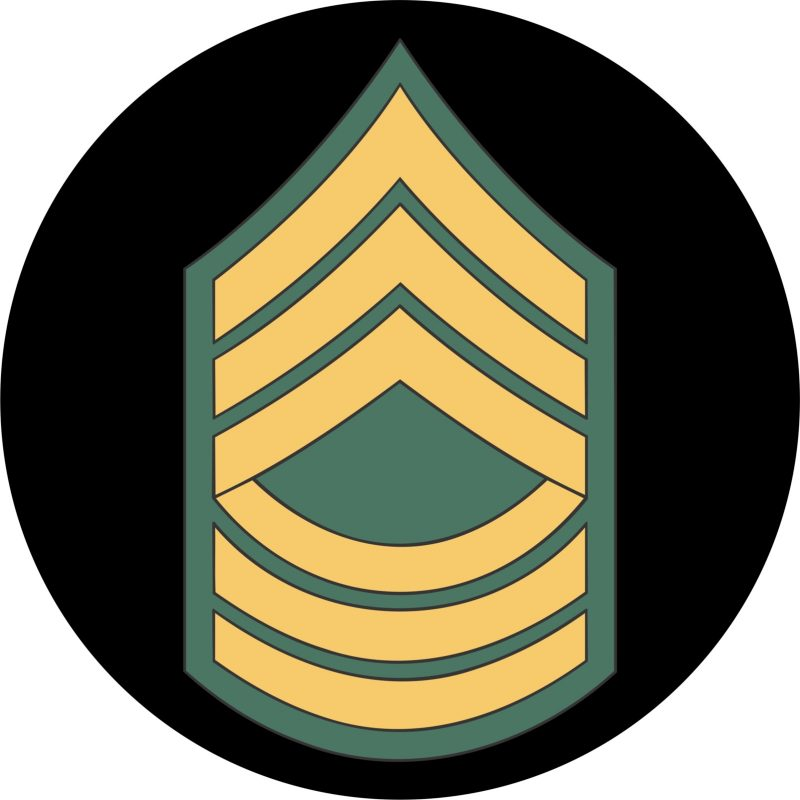 US Army Master Sergeant Mouse Pad