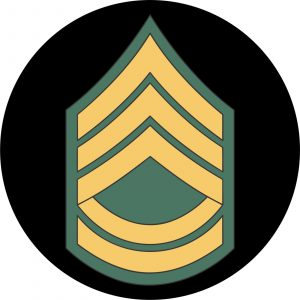 U.S. Army Sergeant First Class Mouse Pad