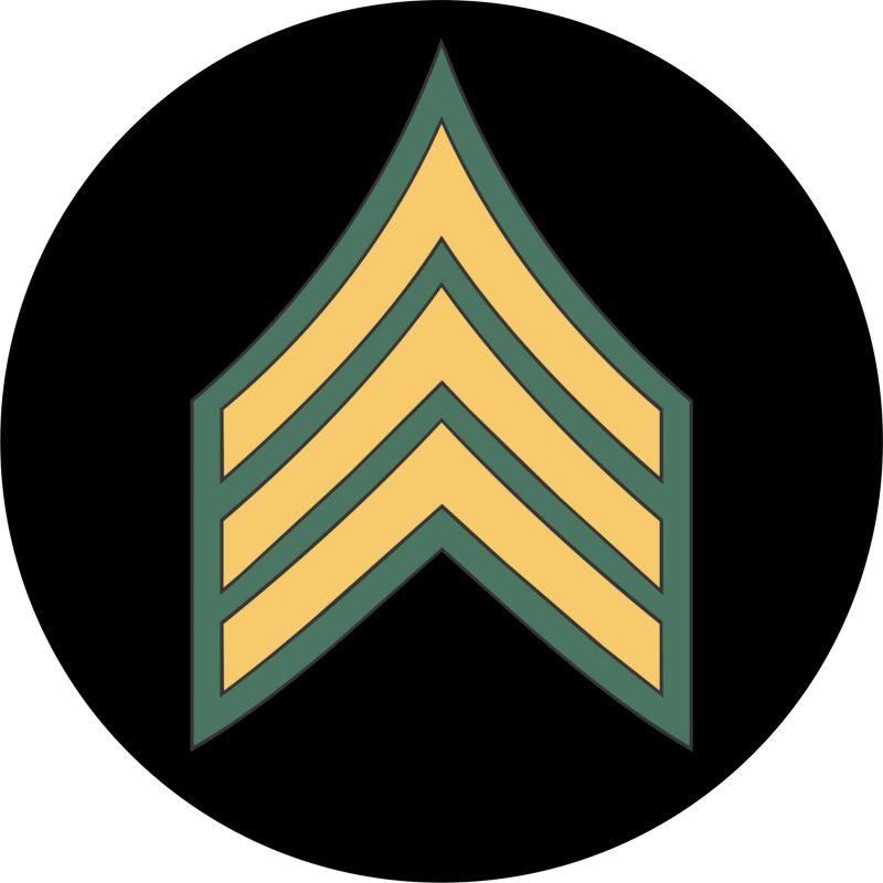 U.S. Army Sergeant Mouse Pad