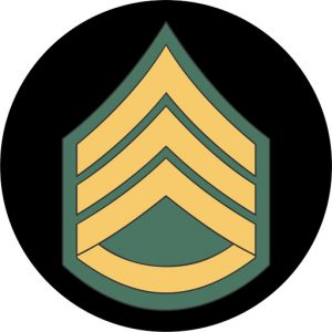 US Army Staff Sergeant Mouse Pad