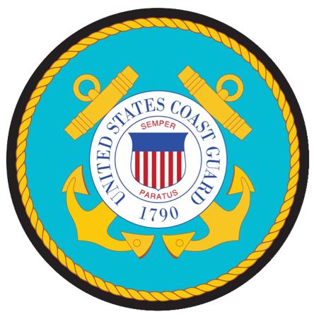 U.S. Coast Guard (USCG) Seal Mouse Pad