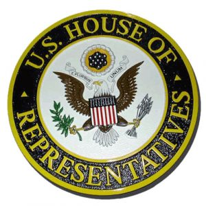 House of Representatives Plaque