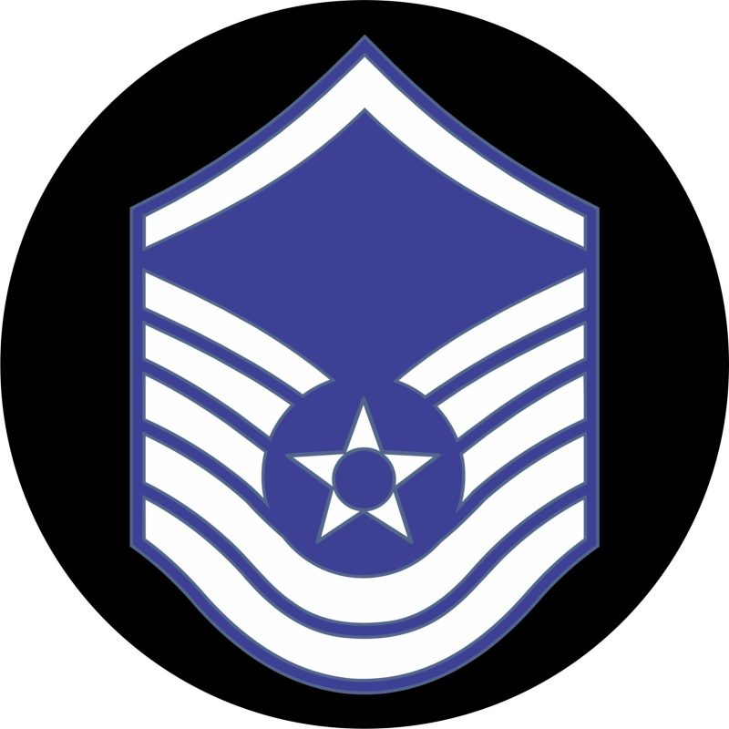 USAF Master Sergeant Mouse Pad