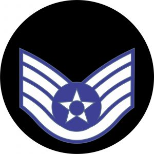 USAF Staff Sergeant Mouse Pad