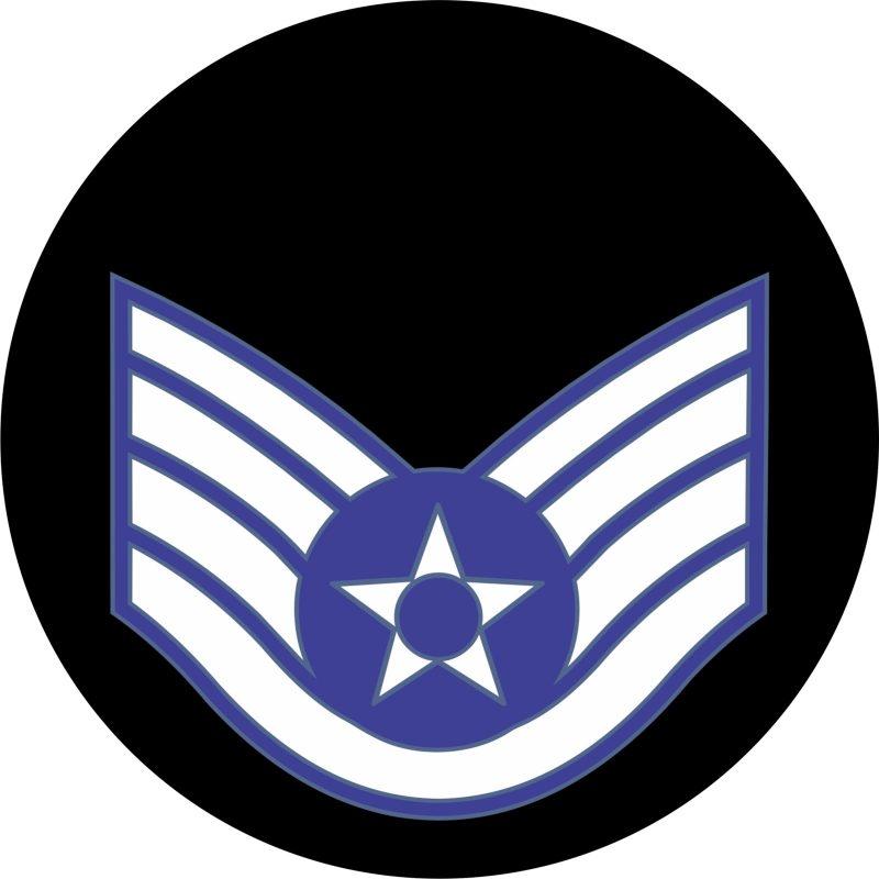 USAF Staff Sergeant Mouse Pad