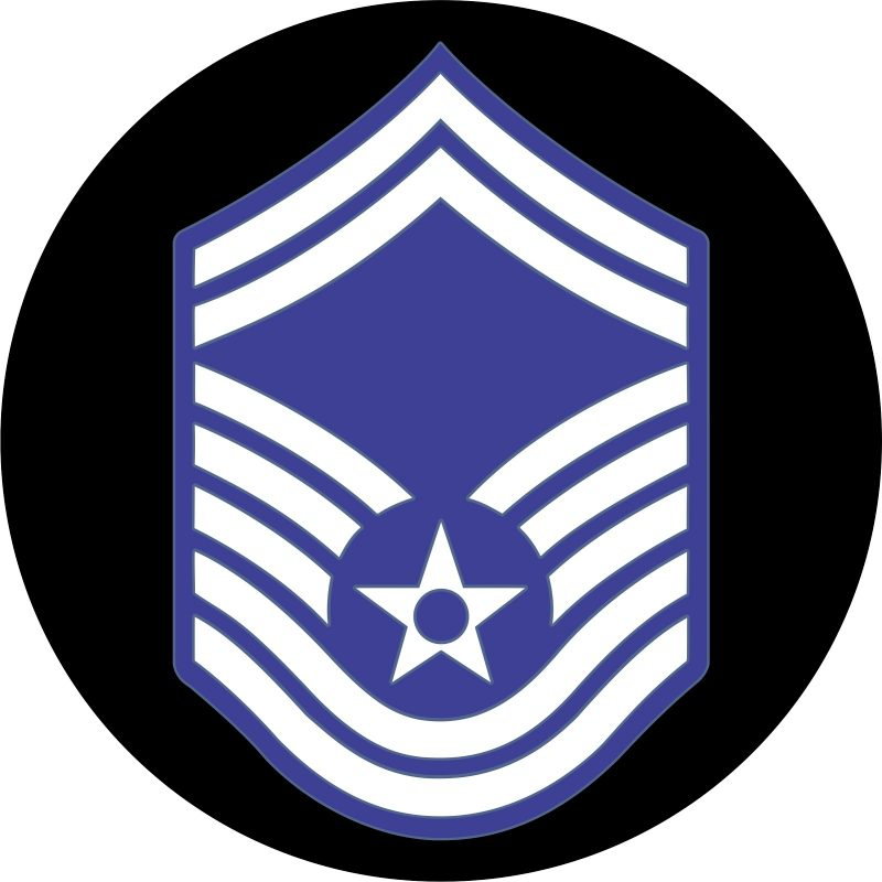 USAF Technical Master Sergeant Mouse Pad