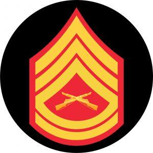USMC Gunnery Sergeant Mouse Pad