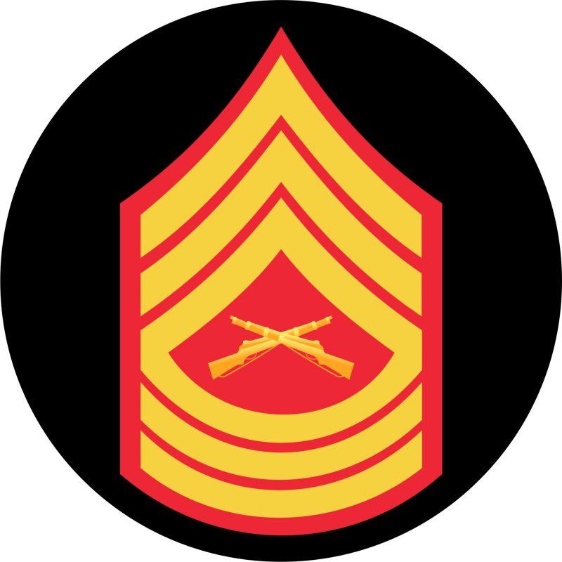 USMC Master Sergeant Mouse Pad