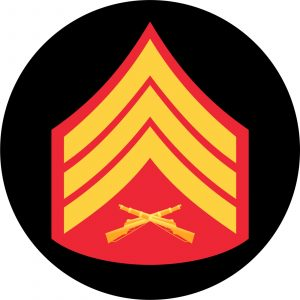 USMC Sergeant Mouse Pad