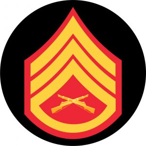 USMC Staff Sergeant Mouse Pad