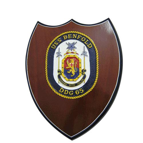 USS Benfold-DDG 65 Plaque
