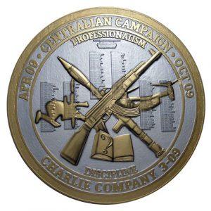Charlie Company 3-09 Deployment Plaque