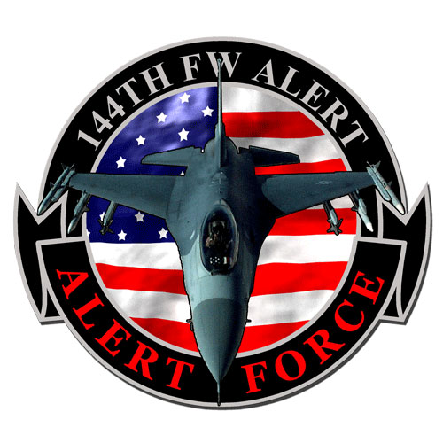144th Fighter Wing Emblem Plaque