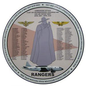 Fleet Recon Rangers Deployment Plaque