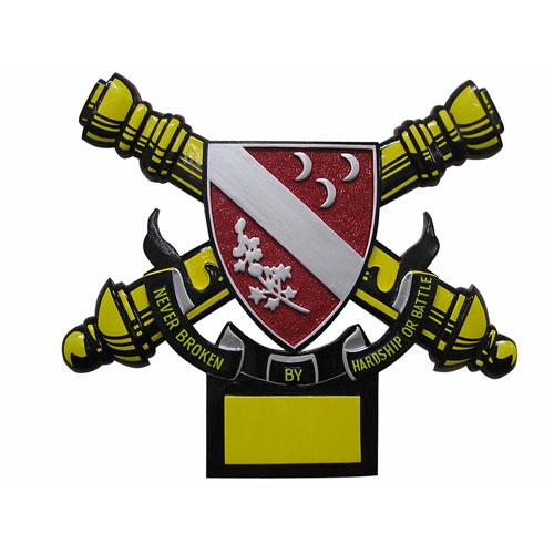 1st Battalion 7th-Field Artillery Emblem