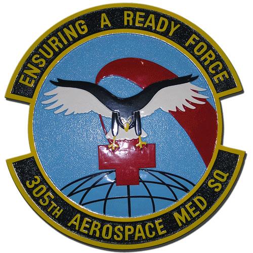 305th Aerospace Medical Squadron Emblem