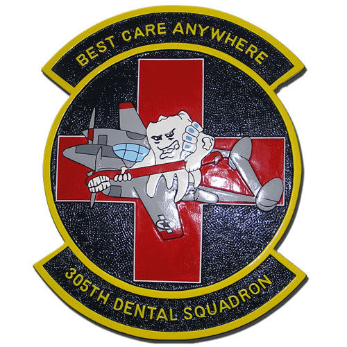 305th Dental Squadron Emblem