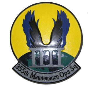 355th Maintenance Operations Squadron Emblem