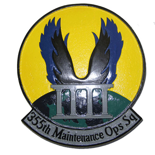 355th Maintenance Operations Squadron Emblem
