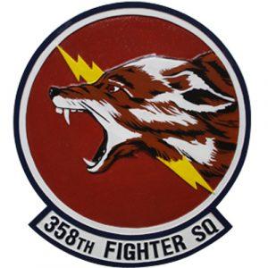 358th Fighter SQ Emblem