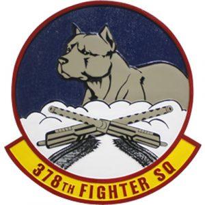 378th Fighter SQ Emblem