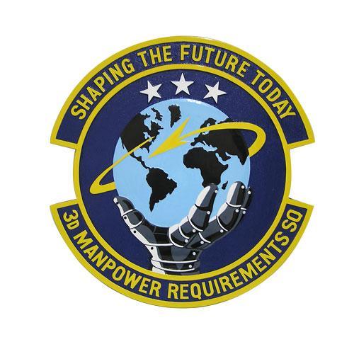 USAF 3rd Manpower Requirements Sq Emblem