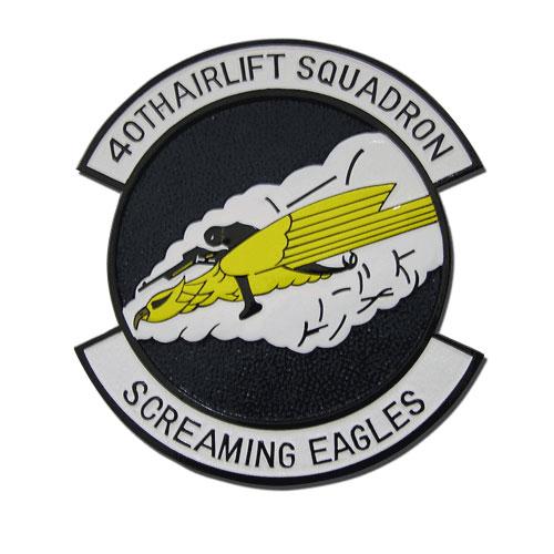 40th Airlift Squadron Emblem