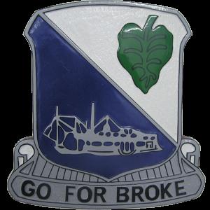 442nd Infantry Regiment Crest