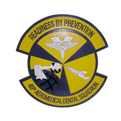 49th Aeromedical Dental Sq Emblem
