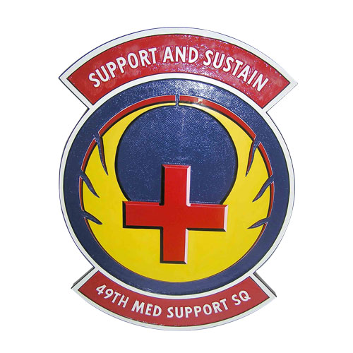 49th Med Support Sq Emblem