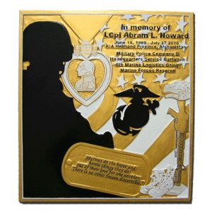4th Marine Logistics Group-Marine Forces Reserve Plaque