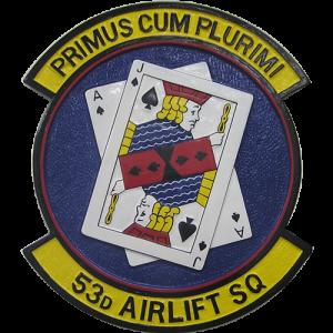USAF 53rd Airlift SQ Emblem
