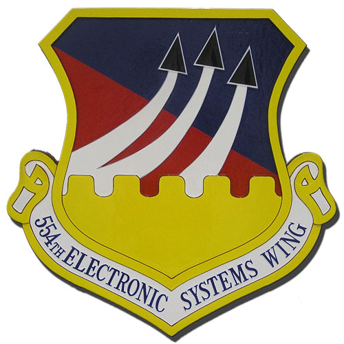 554th Electronic Systems Wing Emblem