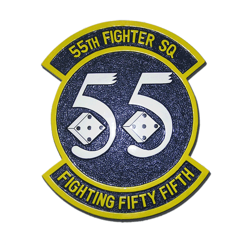 55th Fighter Squadron Emblem