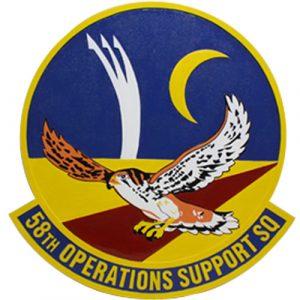 58th Operations Support SQ Emblem