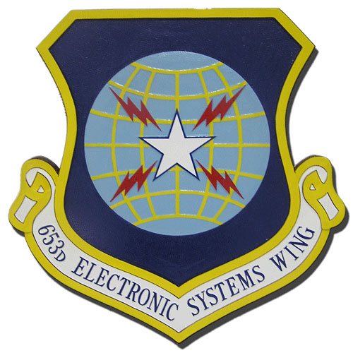 653rd Electronic Systems Wing Emblem